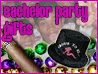 Choose Bachelor Party Fun for all of your party gifts!